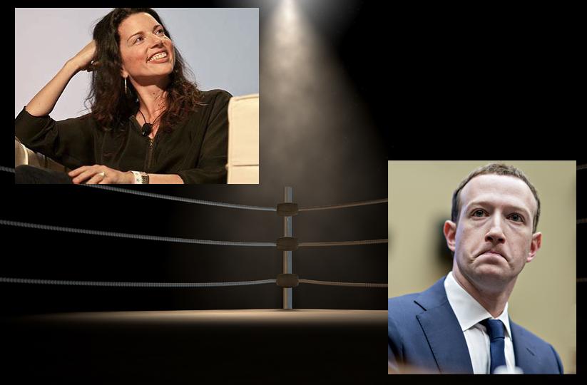 Gina Bianchini vs Mark Zuckerberg